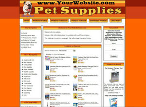 Dog Care Store Turnkey Dropship Website Adsense clickbank amazon ebay