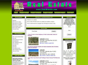 Real Estate Store Ready Made Affiliate Website Ebay amazon google dropship