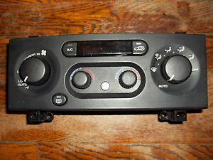 99 01 Jeep Grand Cherokee Dual Heater Climate Control Unit Limited Laredo 2000