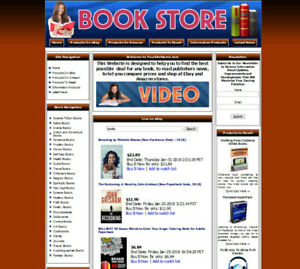 Ebay Affiliate Books Website For Sale Adsense Amazon Clickbank Resell Products