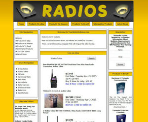 Established Radio Make Money Affiliate Online Business Website For Sale