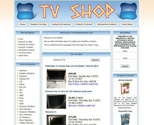 Established Television Make Money Affiliate Online Business Website For Sale
