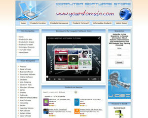 Software Store Website Turnkey Online Business