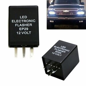4 Pin Ep29 Ep29n Led Flasher Relay Fix For Led Turn Signal Lamps Hyper Flash