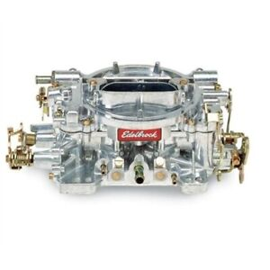 Edelbrock 1404 Performer 500 Cfm 4 Barrel Carburetor Manual Choke