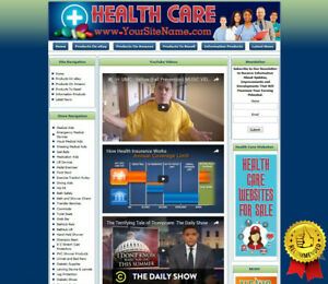 Professional New Medical Clinical Doctor Amazon Store Website Business For Sale