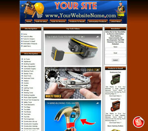 Tools Store Complete Ready Made Affiliate Website Amazon google clickbank epn