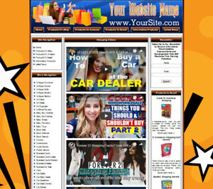 Amazon Store Complete Ready Made Affiliate Website Google Adsense dropship