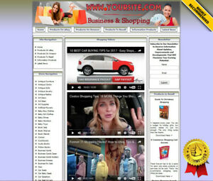 Affiliate Store Online Business Website For Sale Amazon Ebay Dropship Adsense