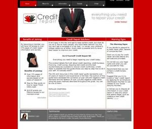 Make Money With Credit Repair Packages Established Business Website For Sale
