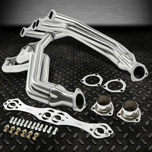 For 35 48 Chevy Small Block 265 400 V8 Exhaust Manifold Fat Fender Well Header