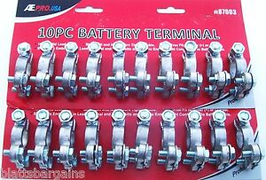 20 Ate Professional Heavy Duty Top Post Replacement Battery Terminals 87003