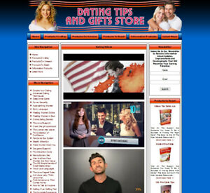 Dating Tips And Gifts Store Website For Sale