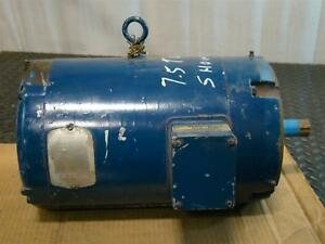 Delmarva 7 1 2hp Electric Motor 230 460v 1675rpm 305584 43 37e178y249