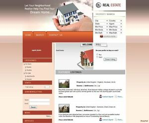 Property Agency Business Website For Sale Free Domain Name