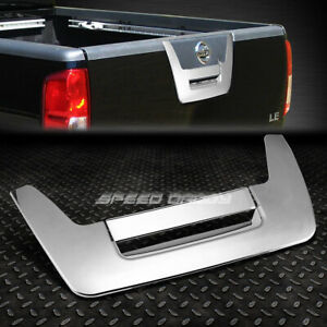 For 05 10 Nissan Frontier D40 Chrome Tailgate Door Handle Cover Rear Trim Kit