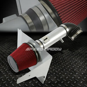 For 12 15 Camaro V6 3 6l Silver Cold Air Intake Aluminum Pipe Heat Shield System