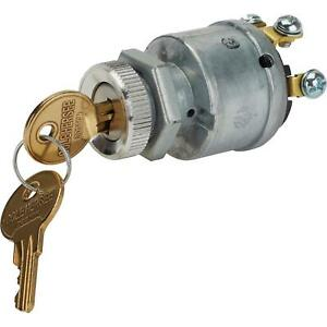 Speedway Motors Universal 4 Position Keyed Ignition Switch W Keys