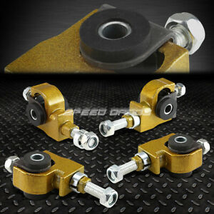 Adjustable Front Camber Adjuster Kit 90 97 Honda Accord civic 92 96 Prelude Gold