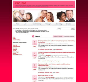 Online Dating Sex And Relationships Social Network Website For Sale