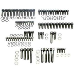 Speedway Motors Sbc 350 Small Block Chevy Stainless Steel Engine Allen Bolt Kit