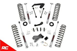 Rough Country 4 Lift Kit With Shocks For Jeep 07 18 Wrangler Unlimited Jk 4wd