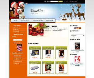 Established Ecommerce Christmas Gifts Shopping Style Website For Sale