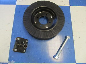 Rotary Cutter Tailwheel W friction Hub And Axle Bolt Fits Most All 4 5 Mower