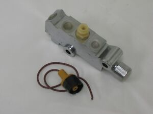 Chrome Gm Chevy Disc Disc Combination Proportioning Brake Valve Failure Switch