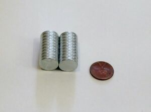 Round Disc Magnets 3x5 10x3 15x3 20x3 Mm Super Strong Rare Earth Neodymium New