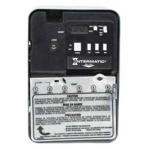 Electronic Timer 24 Hr 7 Days spst Intermatic Eh10