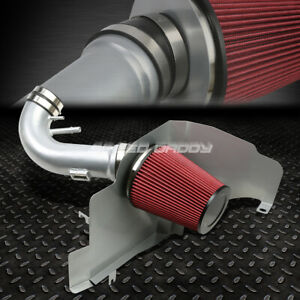 For 11 14 Ford Mustang 5 0 Gt V8 Cold Air Intake Aluminum Pipe heat Shield Kit
