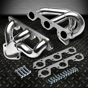 Stainless Racing Header Manifold Exhaust 07 11 Jeep Wrangler 3 8l Jk Egh J8 Tjl