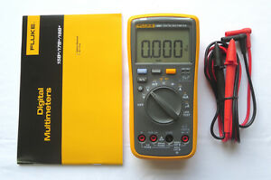 Fluke Digital Multimeter F18b Led Tester 18b Voltmeter Us Seller