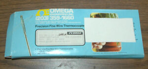 Omega Precision Fine Wire Thermocouples Part Number 5tc gg j 24 36 smp