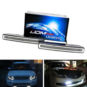 7 Inch Universal Fit Xenon White High Power 30 Smd Led Daytime Running Light Bar