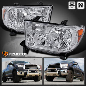 For 2007 2013 Toyota Tundra 2008 2014 Sequoia Replacement Headlights Left Right