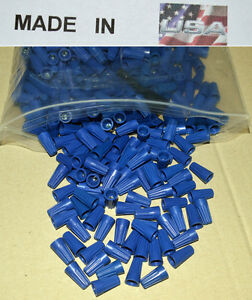 Blue Wire Twist Nut 5000 22 14 Gauge Electrical Wire Connector Awg Twist Usa