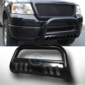 Fits 98 11 Ford Ranger Black Steel Bull Bar Brush Push Bumper Grill Grille Guard