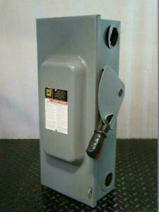 Square D Heavy Duty Safety Switch 100amp 3pole H363
