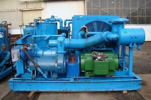 300hp Quincy Rotary Screw Air Compressor 460v 23 000hrs Qsi1250