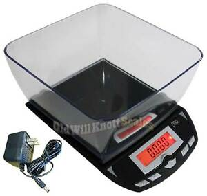 My Weigh 3001p Digital Kitchen food shipping mail soap Making Scale 6 6 With Ac