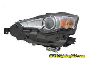 Tyc Left Driver Side Hid Headlight Assembly For Lexus Is250 Is350 2014 2015