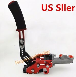 Hydraulic Horizontal Drift Rally E Brake Racing Parking Handbrake Lever Red