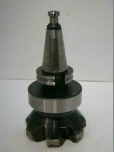 40 Taper Milling 4 1 2 Indexable Cutter 345r 1305