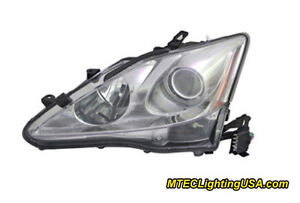 Tyc Left Driver Side Xenon Hid Headlight For Lexus Is250 Is350 06 08 W afs