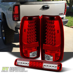 2003 2006 Chevy Silverado Lumileds Led Tail Lights Led 3rd Brake Lamp