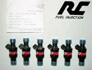 Rc Flowmatched Denso 10 5mm Fuel Injectors All Skyline Rb26dett 550cc Peak Hold