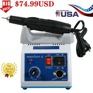 Dental Lab Marathon iii Micromotor Electric 35000 Rpm Handpiece Polishing N3