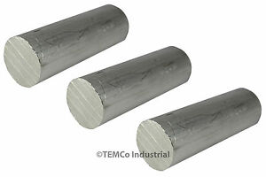 3 Lot 2 25 Inch Diameter 6 Long 6061 Aluminum Round Bar Lathe Rod Stock